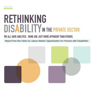Book Cover: Rethinking Disability in the Private Sector