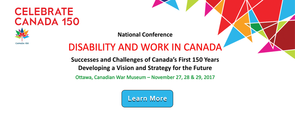 Disability and work in Canada