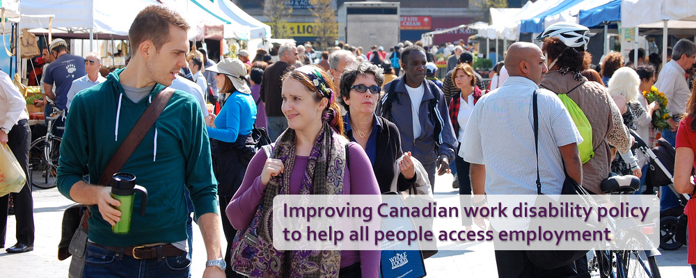 CRWDP - Improving Canadian work disability policy to help all people access employment
